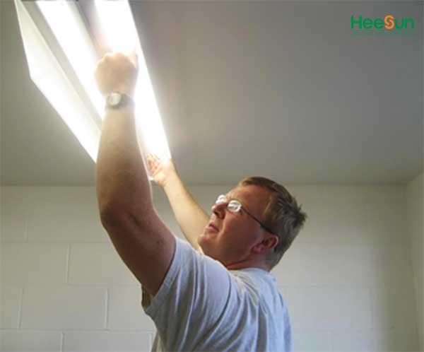 cách lắp đèn led bán nguyệt