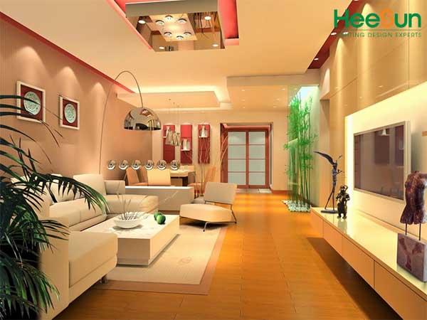 Sử dụng đèn Led trong nội thất mang lại tính thẩm mỹ cho không gian