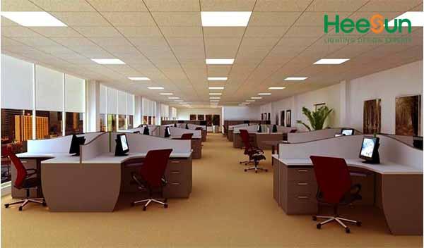 Đèn LED panel vuông siêu mỏng HS-PMV12 ứng dụng thực tế
