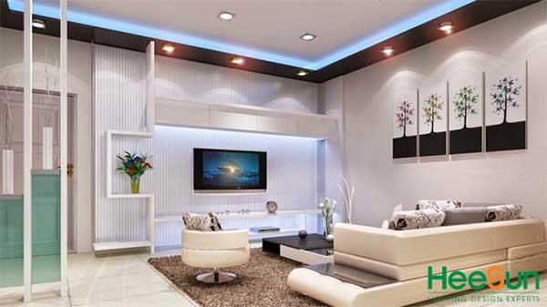 Sử dụng đèn LED trong nội thất có tính ứng dụng cao trong đời sống