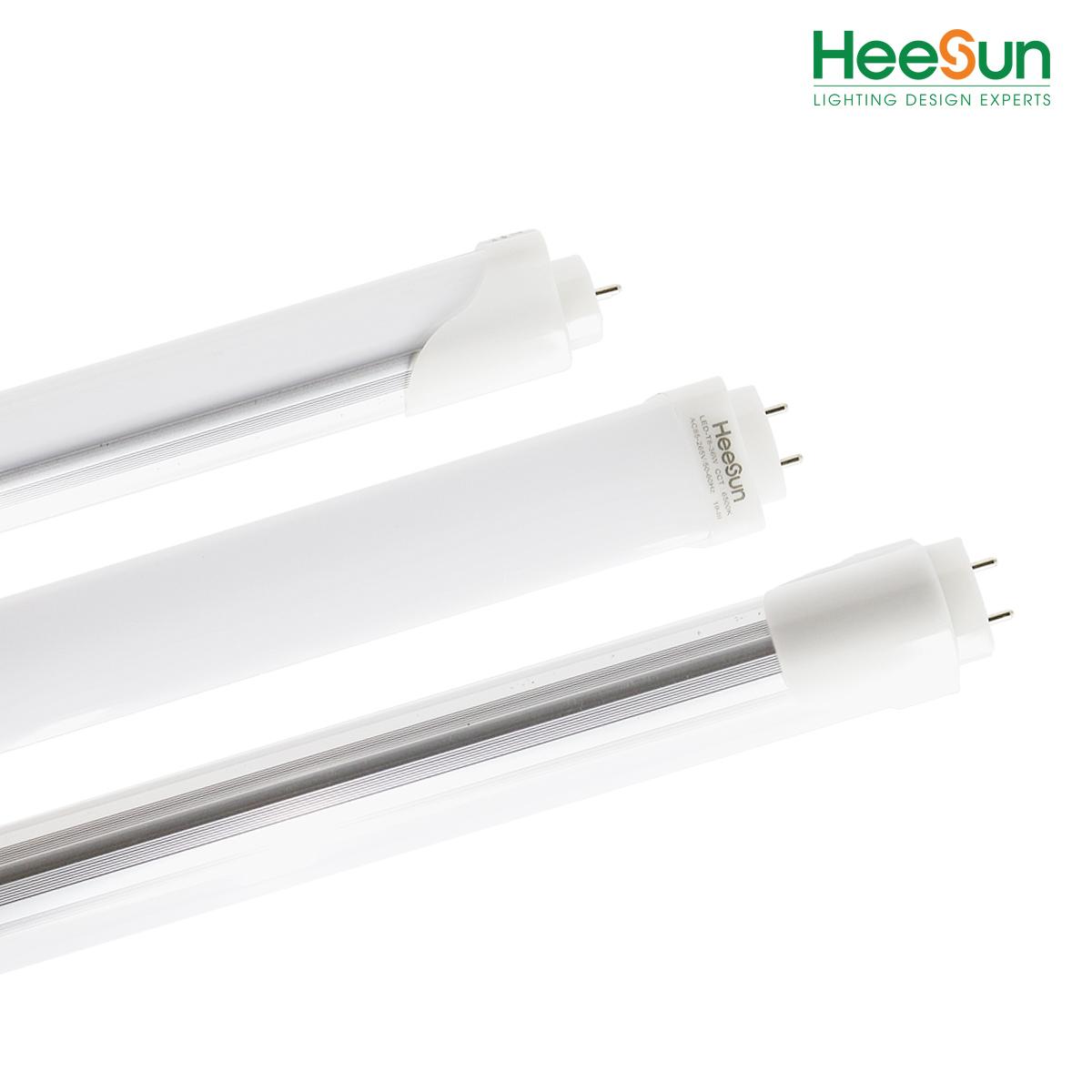 Đèn LED tuýp nhôm nhựa T8 1.2M HS-T8-NN36 - HEESUN VIỆT NAM