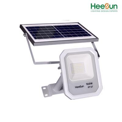 Đèn LED pha năng lượng mặt trời HS-PNL100-01 - HEESUN VIỆT NAM
