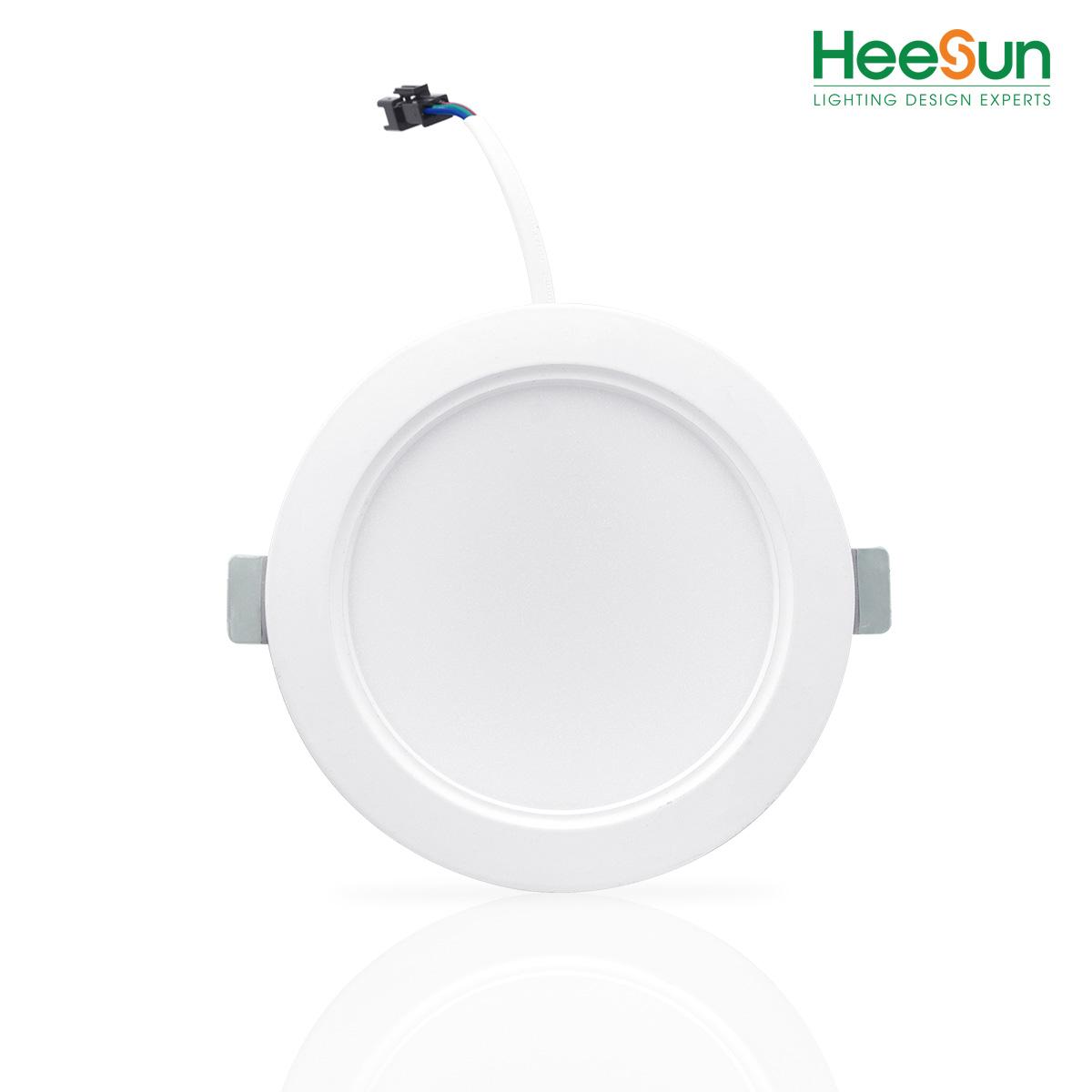 Đèn Led âm trần downlight SMD đế đúc HS-DLD07-01 - HEESUN VIỆT NAM