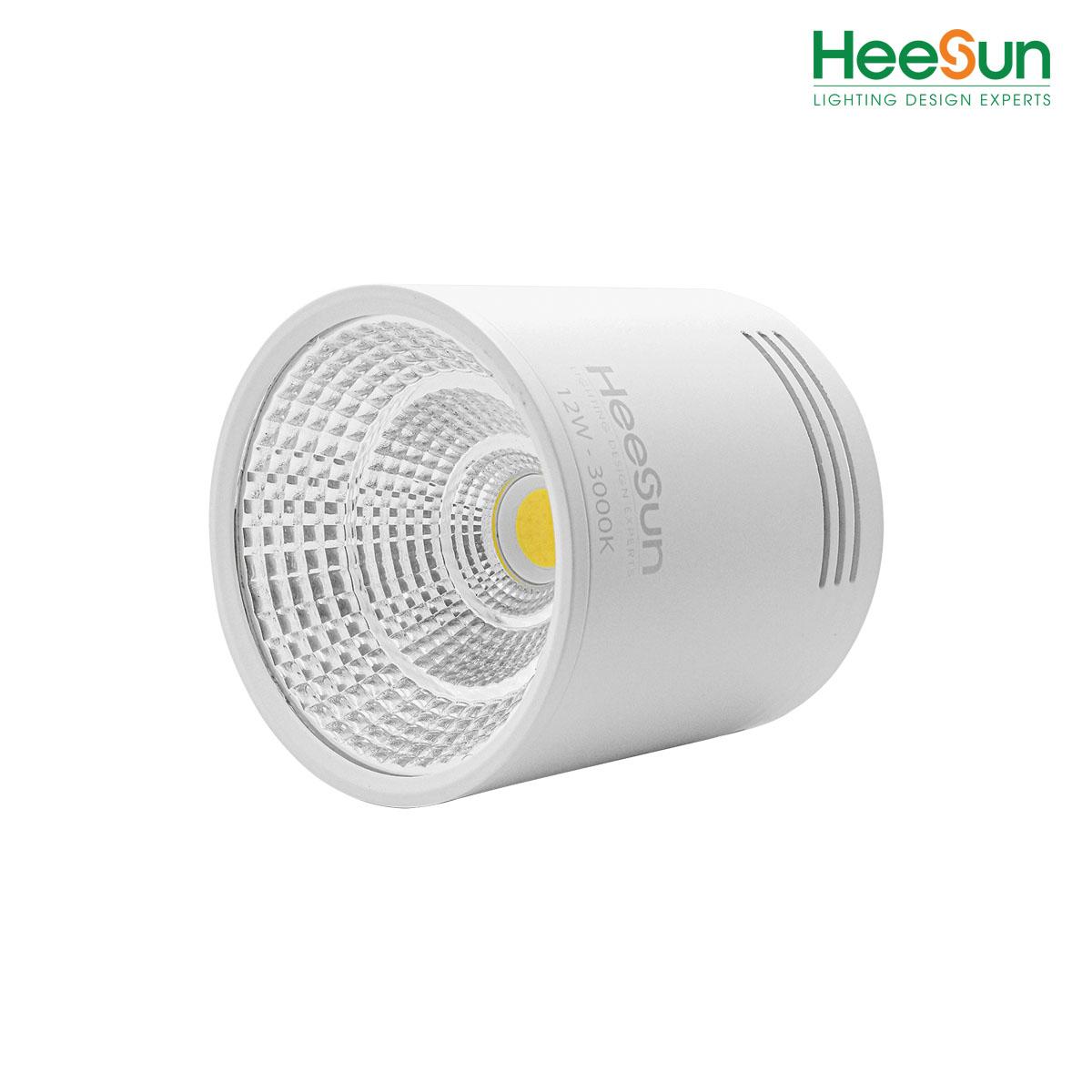 Đèn LED ống bơ HS-OCB12-T - HEESUN VIỆT NAM