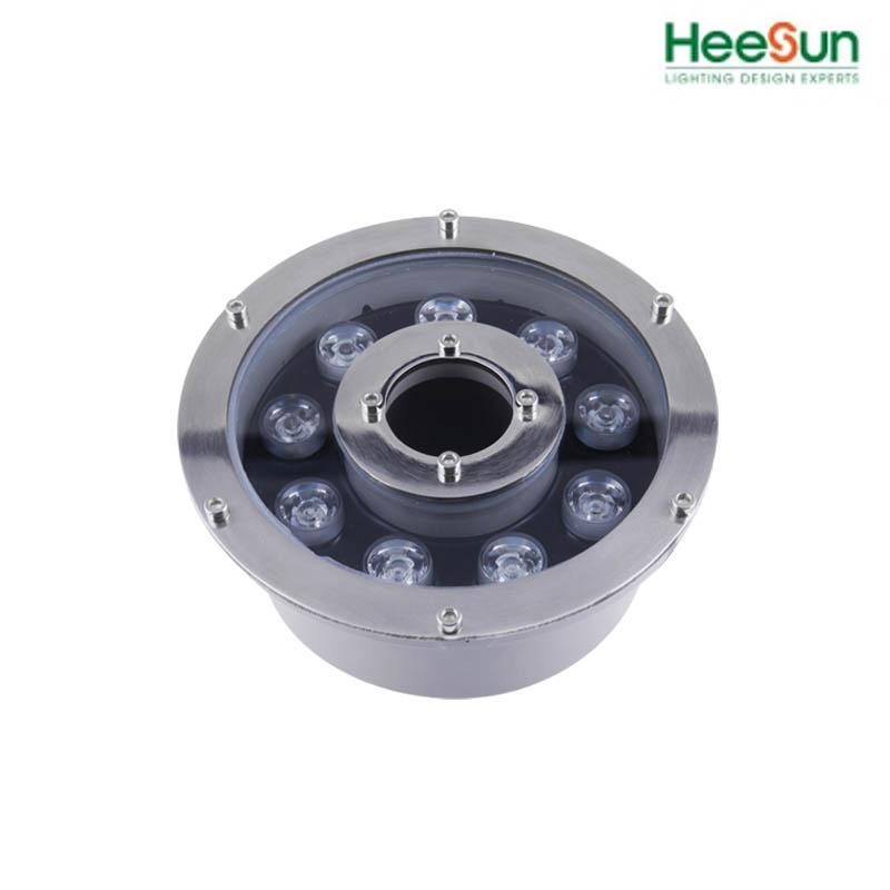 Đèn âm nước bánh xe HS-BX9-01 - đèn led âm nước 9W - HEESUN VIỆT NAM