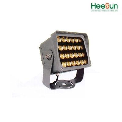 Đèn chiếu điểm vuông HS-PV12 - Đèn ledrọi ngoài trời -