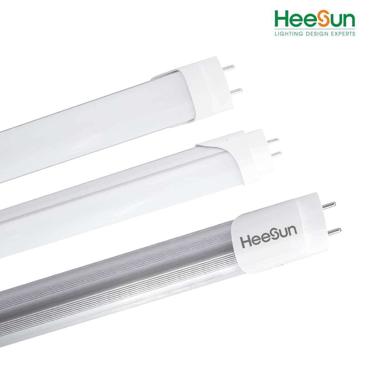 Đèn LED tuýp nhôm nhựa T8 0.6M HS-T8-NN18 - HEESUN VIỆT NAM