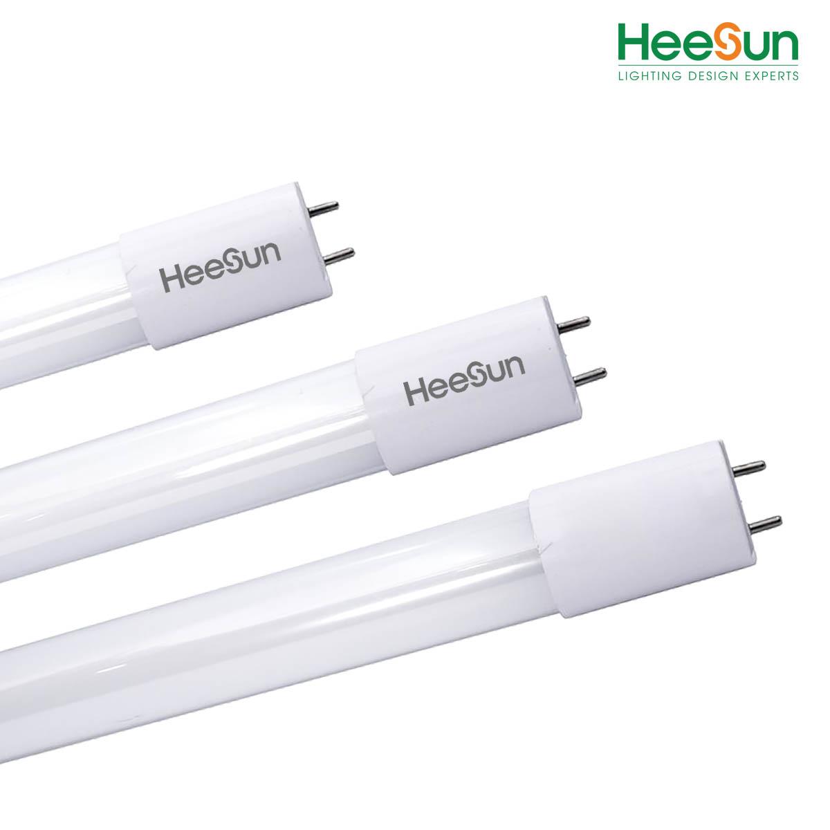 Đèn LED tuýp thủy tinh T8 HS-T8-TT18 - HEESUN VIỆT NAM