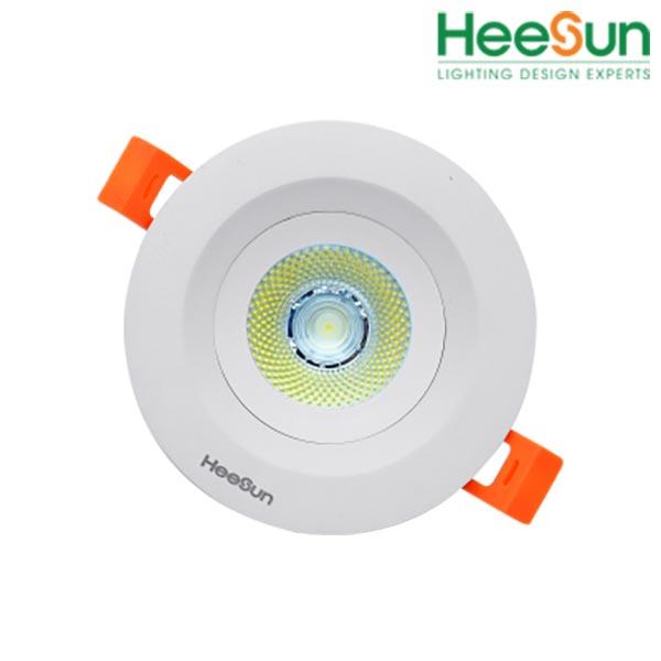 Đèn LED âm trần downlight COB chống chói HS-COBCC07-03 - HEESUN VIỆT NAM