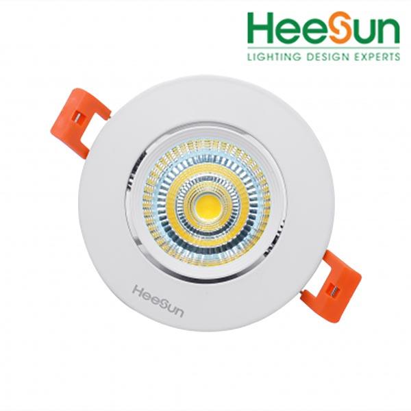 Đèn LED downlight góc chiếu tùy chỉnh HS-COBTC09 - HEESUN VIỆT NAM