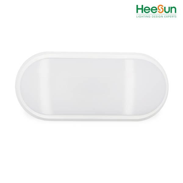 Đèn ốp oval chống ẩm cảm ứng HS-OCU18-V - HEESUN VIỆT NAM