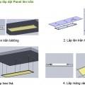Cách lắp đèn led panel âm trần thạch cao và bê tông - HEESUN VIỆT NAM