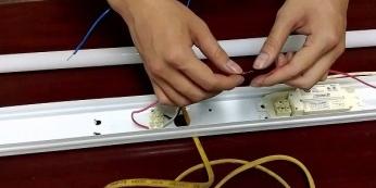 Cách lắp đèn LED tuýp 1m2 - HEESUN VIỆT NAM