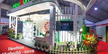 Heesun lên sóng truyền hình Hà Nội tại triển lãm quốc t - HEESUN VIỆT NAM