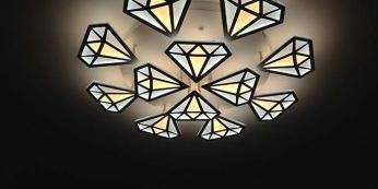 Một số mẫu đèn led ốp trần phòng ngủ đẹp 2019 - HEESUN VIỆT NAM