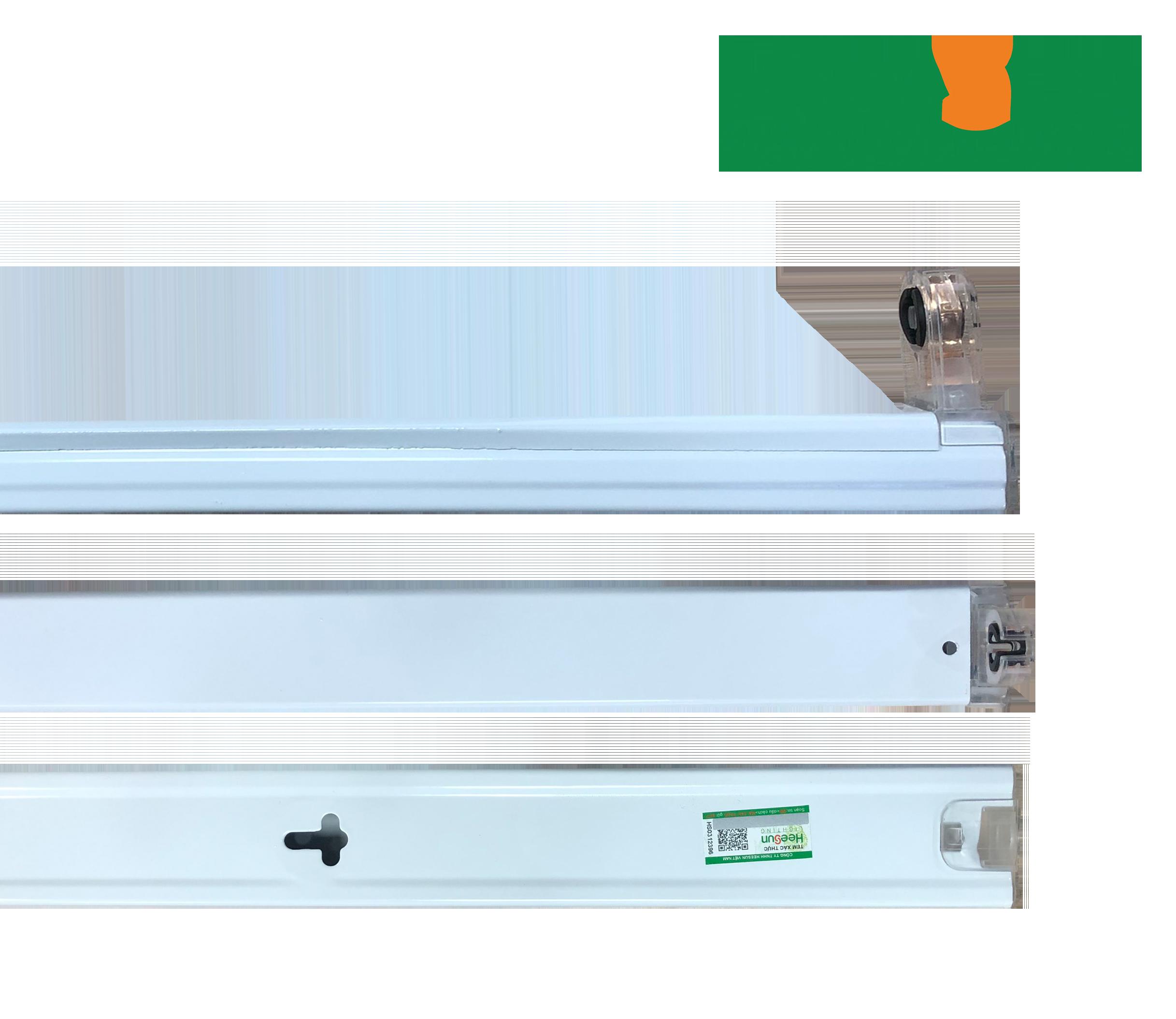 Máng tuýp đơn 1.2m HS-T8-M1 - HEESUN VIỆT NAM
