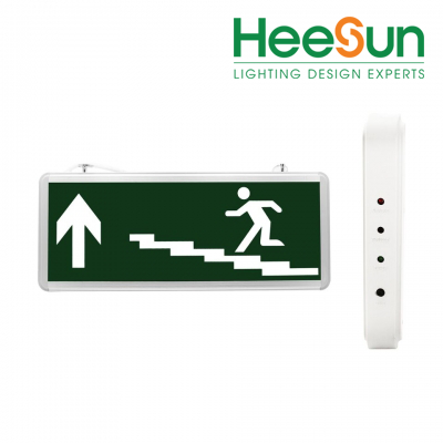 Đèn LED chỉ dẫn lên cầu thang 1 mặt HS-EXIT-CTL - HEESUN VIỆT NAM