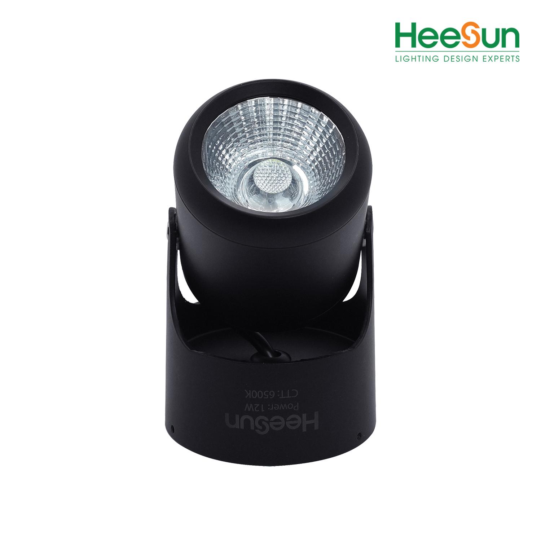 Đèn LED ống bơ góc chiếu điều chỉnh HS-OB12 - HEESUN VIỆT NAM