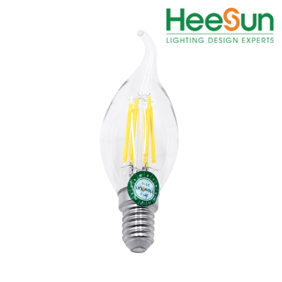 Đèn LED bulb nến dây tóc HS-LDT04-02 - HEESUN VIỆT NAM