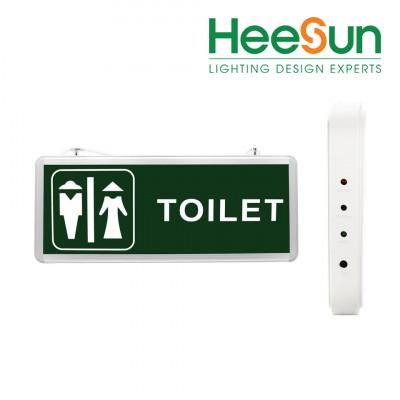 Đèn LED chỉ dẫn nhà vệ sinh HS-EXIT-WC - HEESUN VIỆT NAM