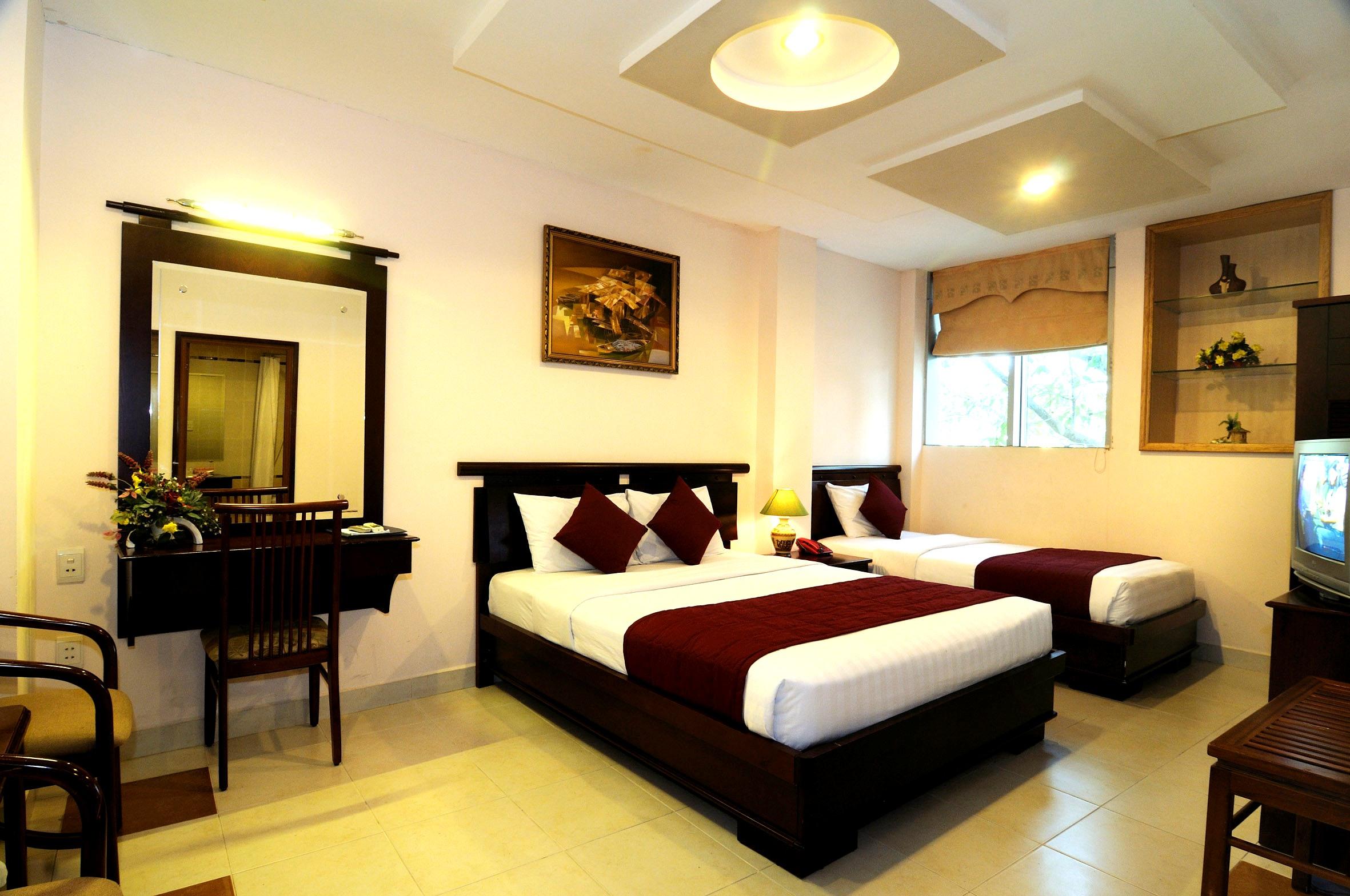 Đèn LED nội thất phòng ngủ hiện đại