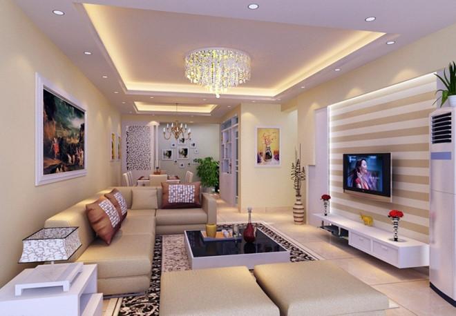 Đèn LED trang trí trần nhà hiện đại