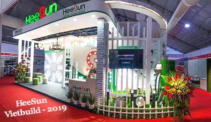 Heesun tại triển lãm VietBuild 2019