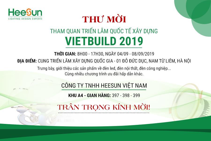 Triển lãm quốc tế Vietbuild 2019 Hà Nội lần 2