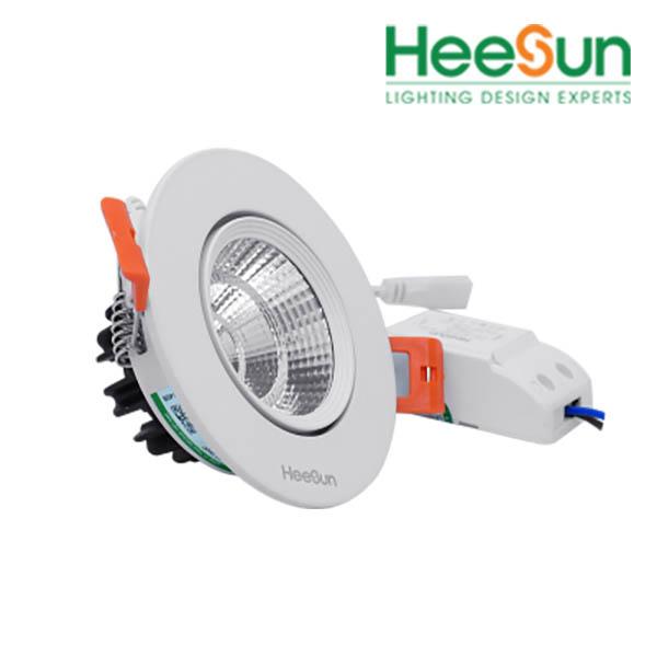 Đèn led downlight góc chiếu tùy chỉnh HS-COBTC12