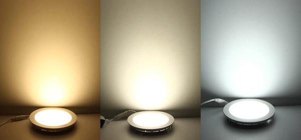 Lựa chọn màu sắc ánh sáng của đèn