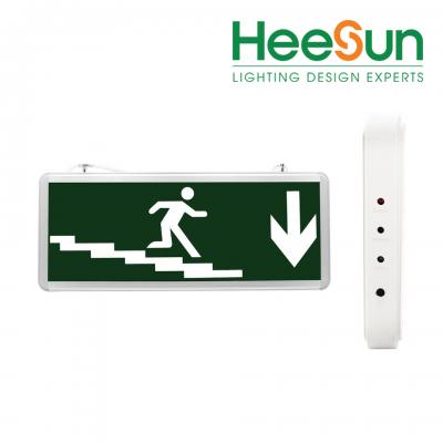 Đèn chỉ dẫn hướng xuống cầu thang 1 mặt HS-EXIT-CTX