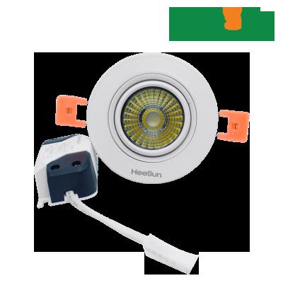 Đèn LED âm trần downlight COB chiếu điểm HS-COBCD03